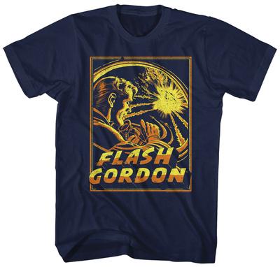 Flash Gordon- Space Battle T-shirts