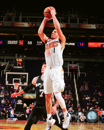 Devin Booker 2016-17 Action Photo