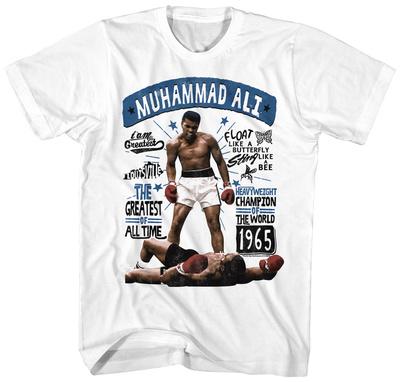 Muhammad Ali- Floating Greatness T-shirts