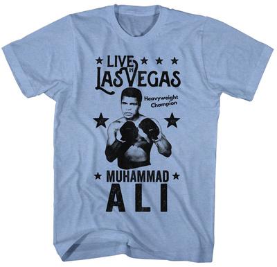 Muhammad Ali- Live In Vegas Shirts