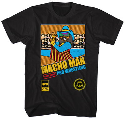 Macho Man- Pixel Pro Wrestler T-shirts