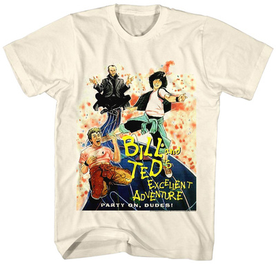 Bill & Ted: Excellent Adventure- Party On T-Shirt