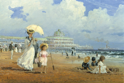 Glorious Summer Giclee Print by Alan Maley