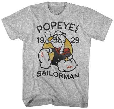 Popeye- Sailing Since 1929 Tshirts