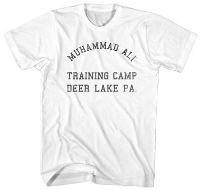 Muhammad Ali- Deer Lake Training Camp Shirts