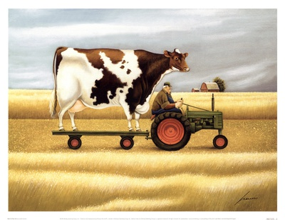 Ride To The Fair Prints by Lowell Herrero