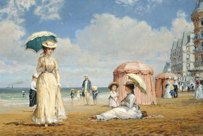 Carefree Days Giclee Print by Alan Maley