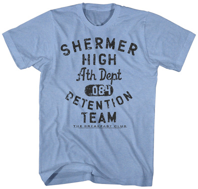 The Breakfast Club- Shermer High Detention Team T-shirts