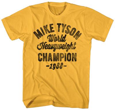 Mike Tyson- '88 Heavyweight Champ T-shirts
