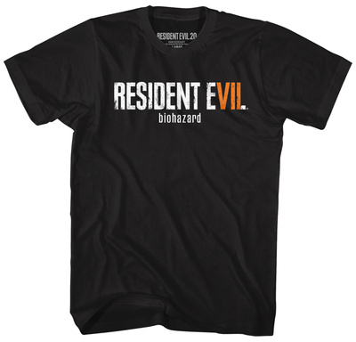 Resident Evil- Re7 Biohazard Logo T-Shirts