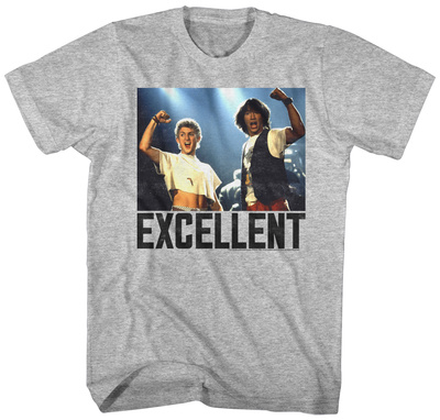 Bill & Ted: Excellent Adventure- Most Excellent Buds T-shirts