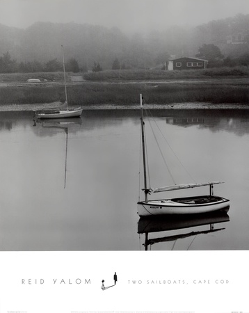 Two Sailboats, Cape Cod Posters by Reid Valom