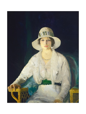 Florence Davey, 1914 Giclee Print by George Bellows