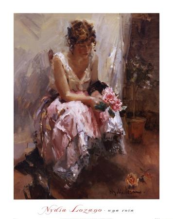 Una Rosa Art by Laura Nydia Lozano