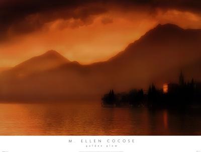 Golden Glow Prints by M. Ellen Cocose