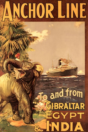 Gibraltar and India II Art by  Eaglecrown