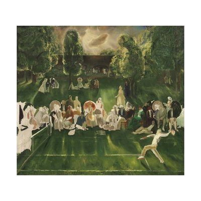 Tennis Tournament, 1920 Giclee Print by George Bellows