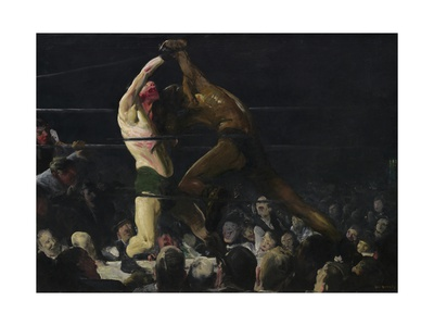 Both Members of This Club, 1909 Giclee Print by George Bellows