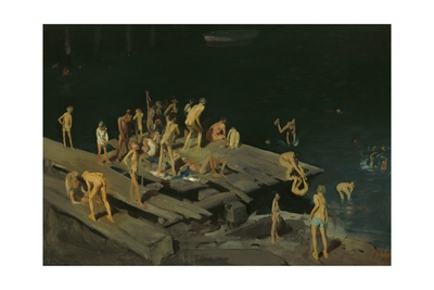 Forty-Two Kids, 1907 Giclee Print by George Bellows