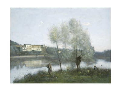 Ville-D'Avray, 1865 Giclee Print by Jean Baptiste Camille Corot