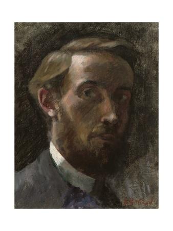 Self-Portrait, Aged 21, 1889 Giclee Print by Edouard Vuillard