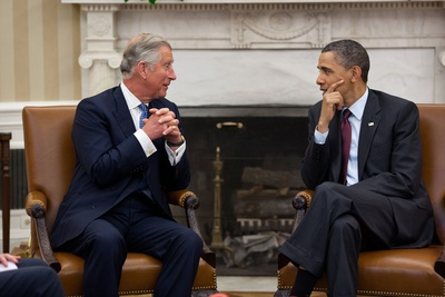 President Barack Obama Meets with Prince Charles, Prince of Wales, in the Oval Office, May 4, 2011 Photo