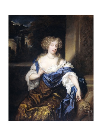 Helena Catharina De Witte, the Wife of Iman Mogge, 1678 Giclee Print by Caspar Netscher
