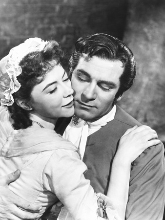 The Beggar's Opera, from Left: Dorothy Tutin, Laurence Olivier, 1953 Photo
