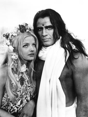 Candy, from Left, Ewa Aulin, Marlon Brando, 1968 Photo