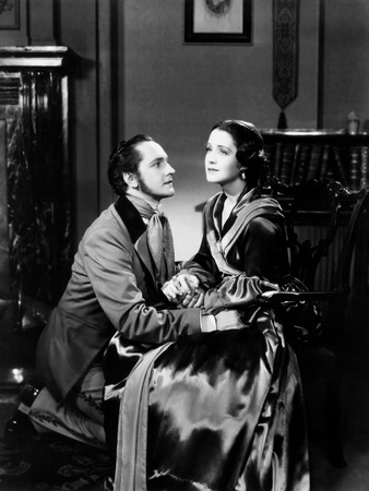 The Barretts of Wimpole Street, from Left, Fredric March, Norma Shearer, 1934 Photo