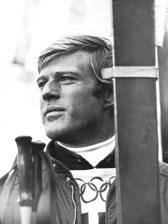 Downhill Racer, Robert Redford, 1969 Photo