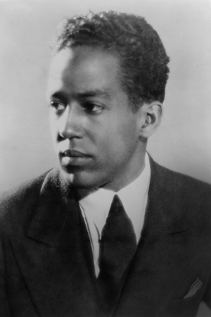 Langston Hughes, African American Poet, Novelist, Playwright, and Journalist, Ca. 1930 Photo
