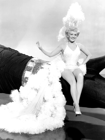 Meet Me after the Show, Betty Grable, 1951 Photo