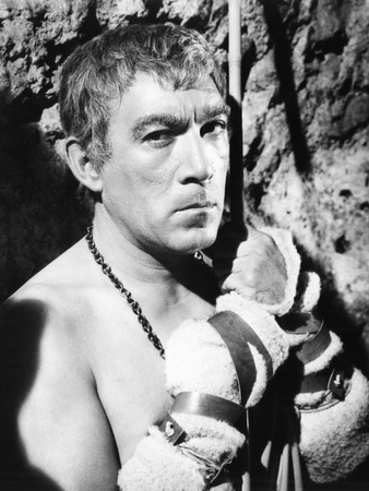 Barabbas, Anthony Quinn, 1962 Photo