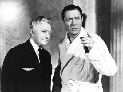 Here Comes Mr. Jordan, from Left: Claude Rains, Robert Montgomery, 1941 Photo