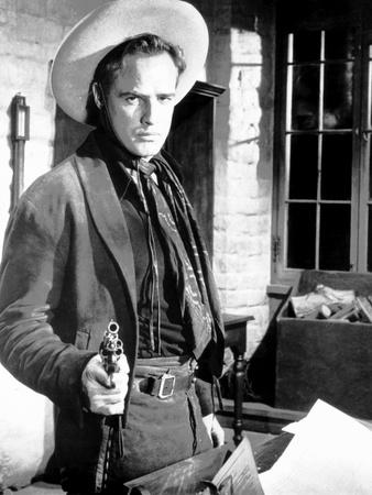One-Eyed Jacks, Director and Star Marlon Brando, 1961 Photo