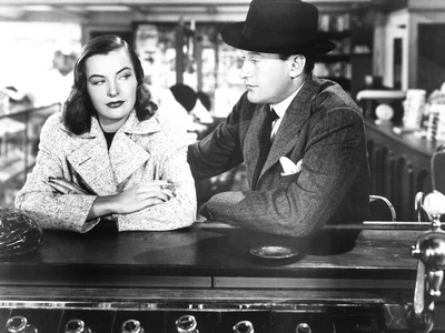 The Strange Affair of Uncle Harry, from Left: Ella Raines, George Sanders, 1945 Photo