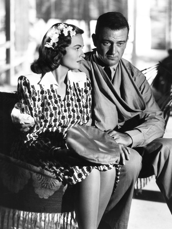 They Were Expendable, from Left: Donna Reed, John Wayne, 1945 Photo