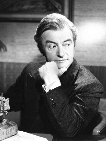 The Unsuspected, Claude Rains, 1947 Photo