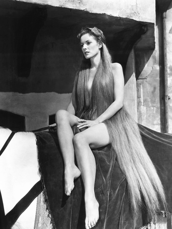 Lady Godiva of Coventry, (AKA Lady Godiva), Maureen O'Hara, 1955 Photo