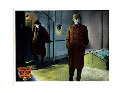 The Return of Sherlock Holmes, Clive Brook, (Right), 1929 Giclee Print