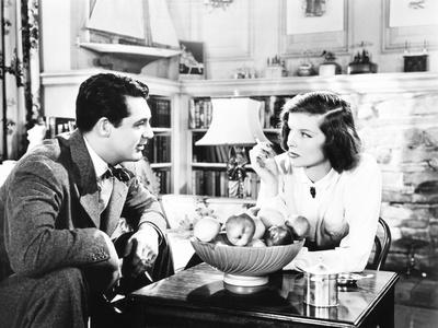 Holiday, from Left: Cary Grant, Katharine Hepburn, 1938 Photo