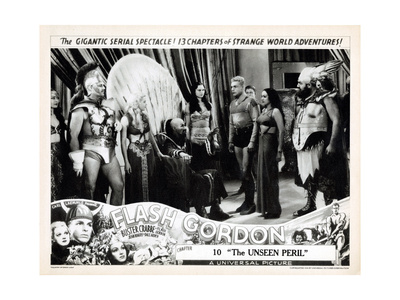 Flash Gordon, (AKA Rocketship), 1936 Giclee Print