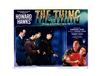 The Thing from Another World, Kenneth Tobey, Margaret Sheridan, 1951 Giclee Print