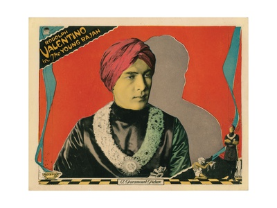 The Young Rajah, Rudolph Valentino, 1922 Giclee Print