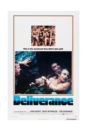 Deliverance, Ned Beatty, Herbert 'Cowboy' Coward, Jon Voight, Burt Reynolds, 1972 Giclee Print