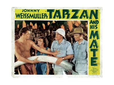 Tarzan and His Mate, 1934 Giclee Print