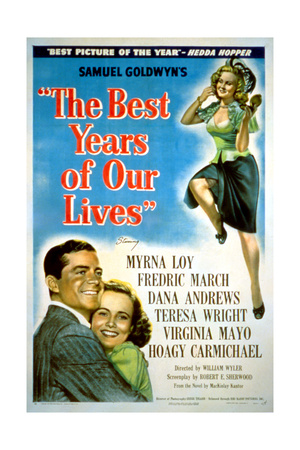 The Best Years of Our Lives, Dana Andrews, Teresa Wright, Virginia Mayo, 1946 Giclee Print