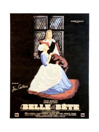 Beauty and the Beast, (AKA La Belle Et La Bete), 1946 Giclee Print