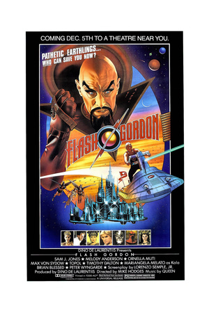 Flash Gordon, 1980 Giclee Print
